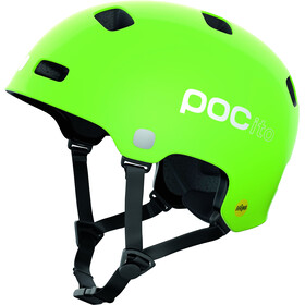 POC POCito Crane MIPS Helm Kinder fluorescent yellow/green